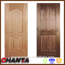 hdf wood veneer door skin with competitive price for ash,teak,sapele,cherry veneer